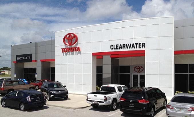 about clearwater toyota toyota dealership serving tampa bay new toyota and used car dealer. Black Bedroom Furniture Sets. Home Design Ideas