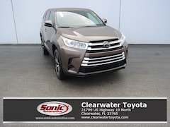 New 2019 Toyota Highlander LE I4 SUV for sale in Clearwater