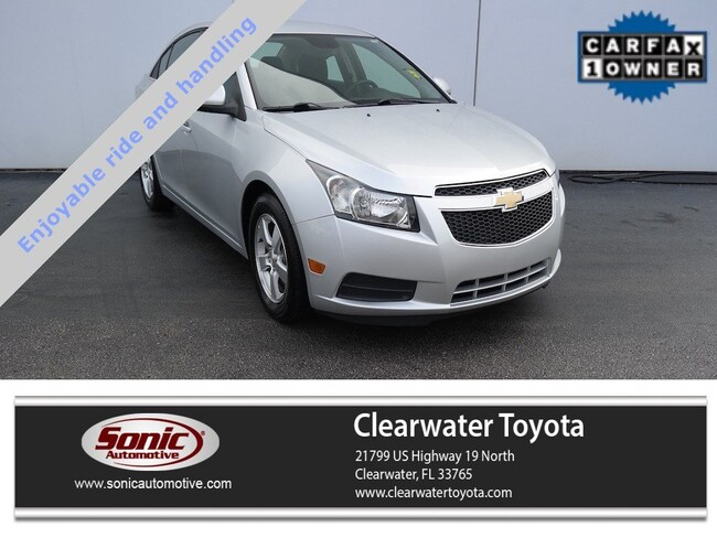 Used 2013 Chevrolet Cruze 1LT 4dr Sdn Auto Sedan in Clearwater