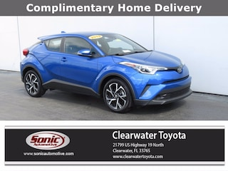Certified Used 2019 Toyota C-HR XLE (XLE FWD (Natl)) SUV in Clearwater