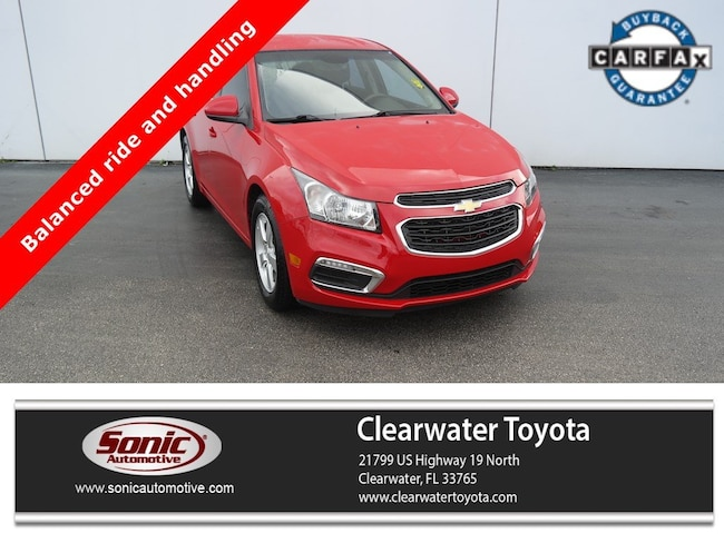 Used 2015 Chevrolet Cruze LT 4dr Sdn Auto 1 Sedan in Clearwater
