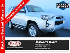 Used 2016 Toyota 4Runner SR5 4WD 4dr V6  Natl SUV in Clearwater