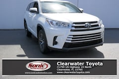 New 2018 Toyota Highlander Hybrid LE V6 SUV serving Tampa