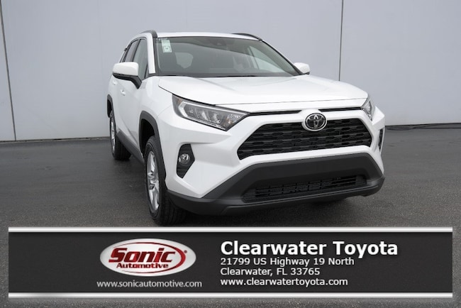 New 2019 Toyota Rav4 Xle For Sale In Clearwater Fl Stock Kw003488