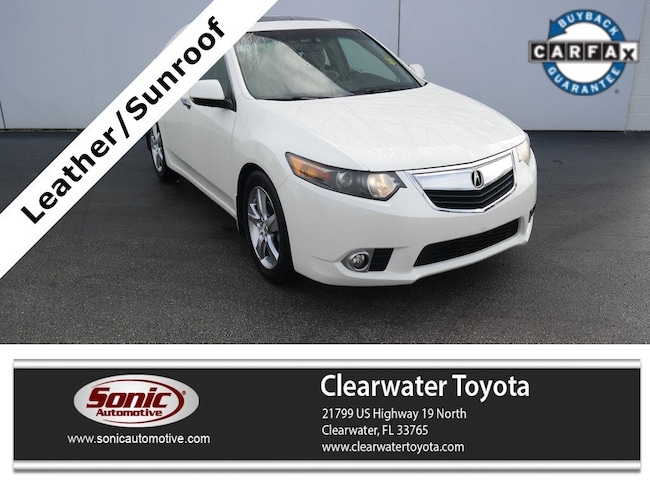 Used 2011 Acura TSX 4dr Sdn I4 Auto Sedan in Clearwater