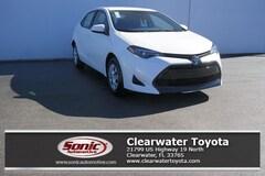 New 2019 Toyota Corolla L Sedan serving Tampa