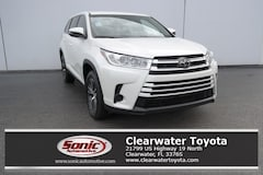 New 2019 Toyota Highlander LE I4 SUV serving Tampa
