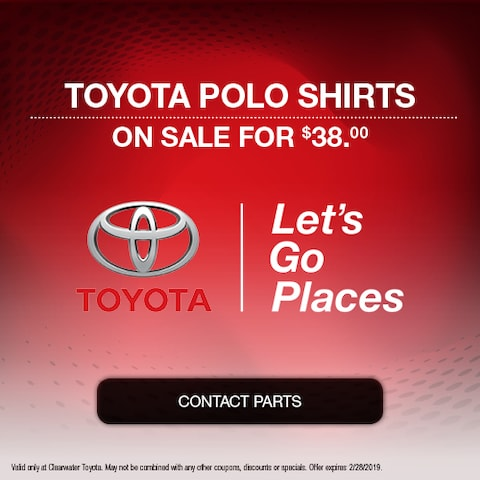 Toyota Polo Shirts