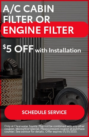 A/C Cabin Filter or Engine Filter