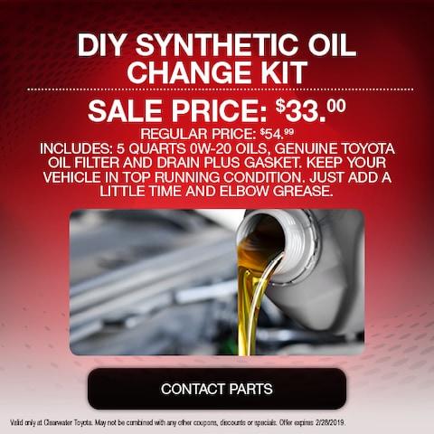 DIY Synthetic Oil Change Kit