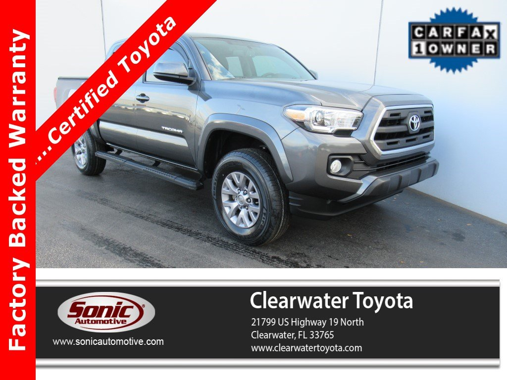 2017 Toyota Tacoma SR5  Double Cab 5 Bed V6 4x2 AT Natl Truck Double Cab