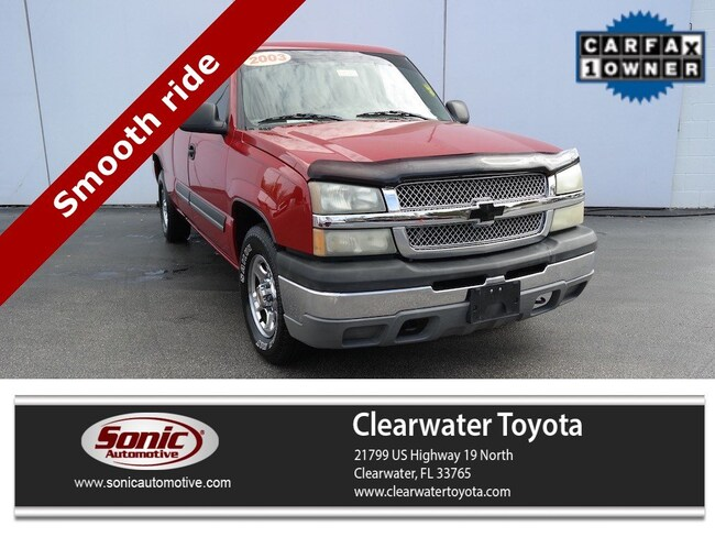 Used 2003 Chevrolet Silverado 1500 LS Ext Cab 143.5 WB Truck Extended Cab in Clearwater
