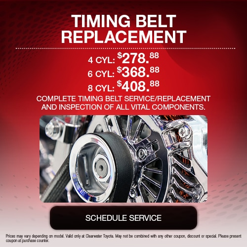 Service Specials | Clearwater Toyota