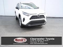 New 2019 Toyota RAV4 LE SUV serving Tampa
