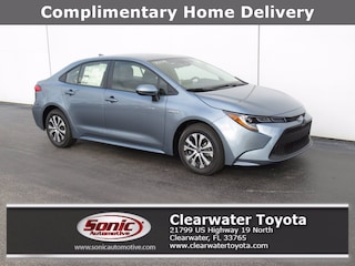 New 2021 Toyota Corolla Hybrid LE Sedan in Clearwater