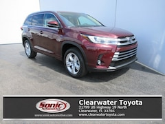 New 2019 Toyota Highlander Limited V6 SUV for sale in Clearwater