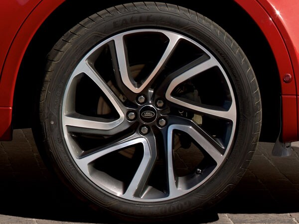 Land Rover Alloy Wheel Repair