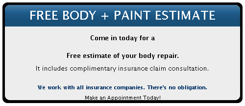 Auto Body Repair Specials In Charlotte, NC