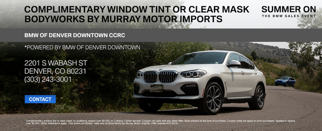 Bmw Of Murray >> Bodyworks By Murray Motor Imports Auto Body Repair Shop In Denver Co