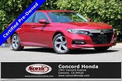 Certified 2018 Honda Accord EX-L w/Navi Sedan in Concord, CA