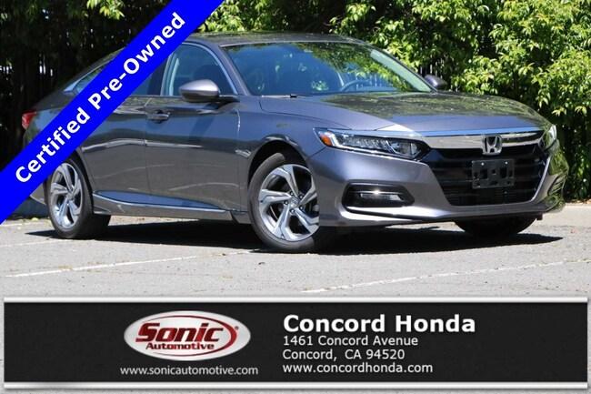 Used 2018 Honda Accord EX-L Sedan in the Bay Area