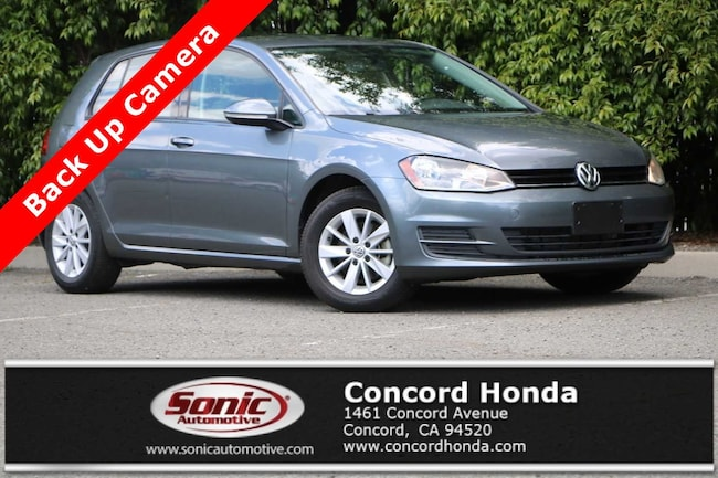 Used 2016 Volkswagen Golf TSI S 4D Automatic Hatchback in Concord, CA