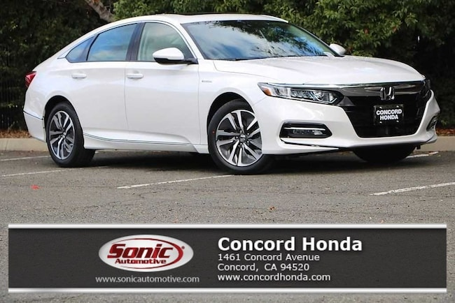 New 2019 Honda Accord Hybrid EX-L Sedan in Concord, CA