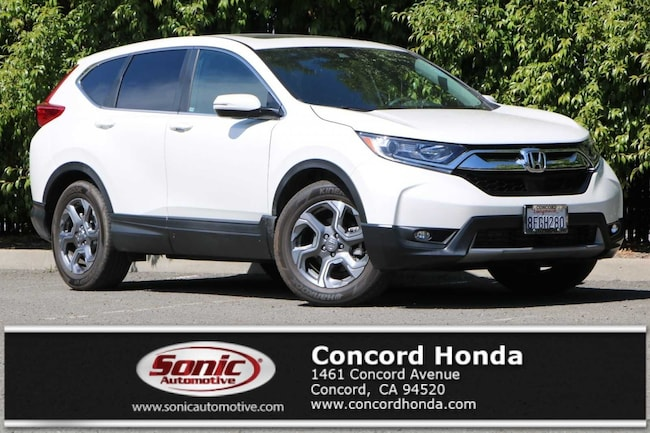 Used 2018 Honda CR-V EX-L 2WD SUV in the Bay Area
