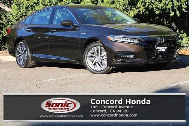 New 2018 Honda Accord Hybrid Touring Sedan in Concord, CA