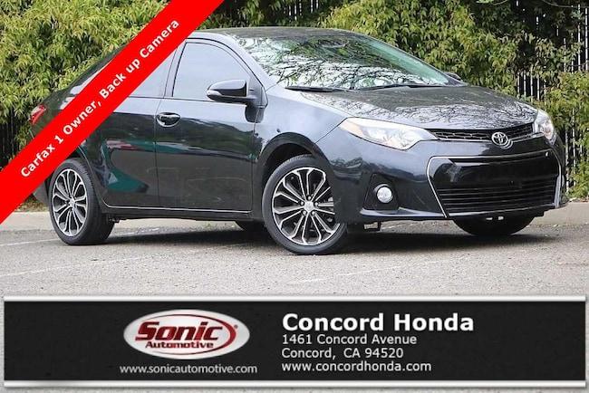 Used 2016 Toyota Corolla S Plus Sedan in Concord, CA