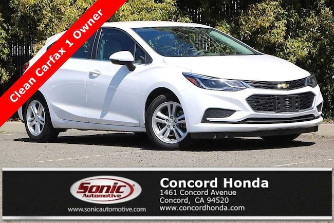 Used 2017 Chevrolet Cruze LT Auto Hatchback in Concord, CA
