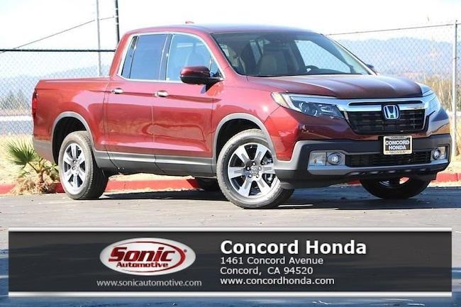 New 2019 Honda Ridgeline RTL-E AWD Truck Crew Cab in Concord, CA