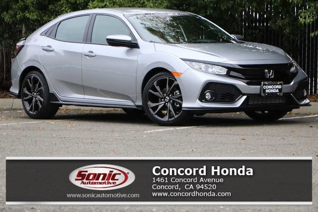 New 2019 Honda Civic Sport Hatchback in Concord, CA