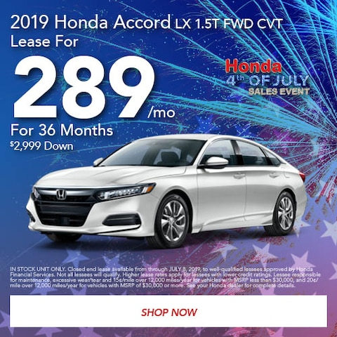 June 2019 Honda Accord LX 1.5T FWD CVT