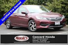 Certified 2017 Honda Accord LX Sedan in Concord, CA