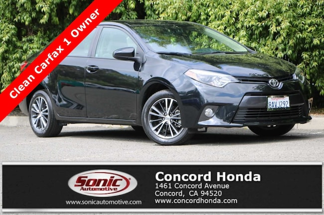 Used 2016 Toyota Corolla LE Plus Sedan in Concord, CA