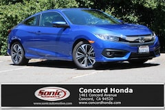 Certified 2018 Honda Civic EX-T Coupe in Concord, CA