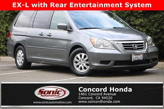 Used 2009 Honda Odyssey EX-L w/DVD RES Van in Concord, CA