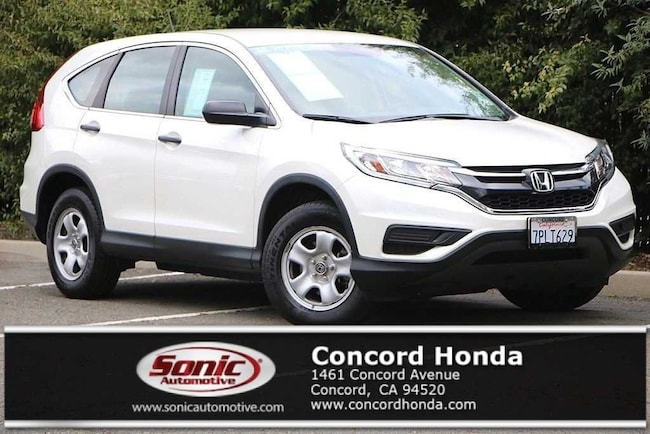 Certified 2015 Honda CR-V LX FWD SUV in Concord, CA