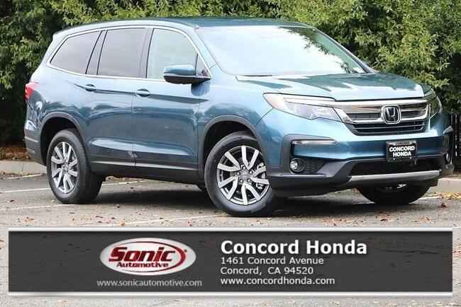 New 2019 Honda Pilot EX FWD SUV in Concord, CA