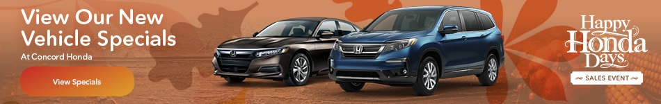 View Our New Vehicle Specials