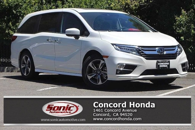 New 2019 Honda Odyssey Touring Van in Concord, CA