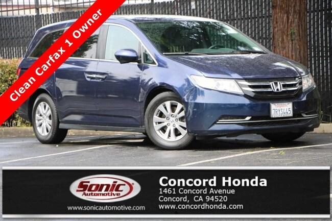 Used 2016 Honda Odyssey EX Van Passenger Van in Concord, CA