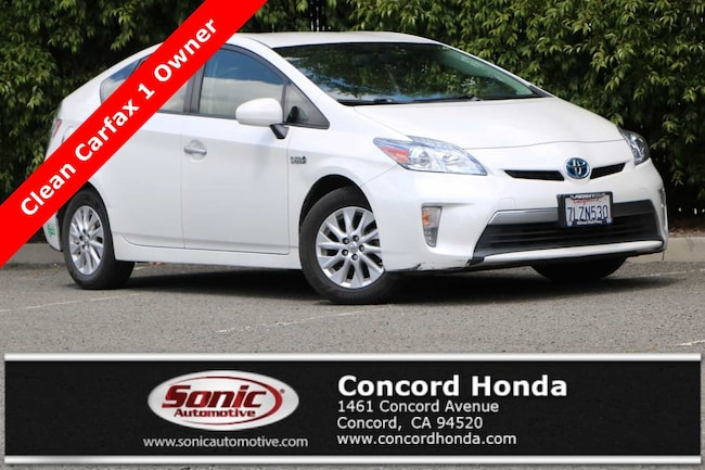 Used 2015 Toyota Prius Plug-in Advanced Hatchback in Concord, CA