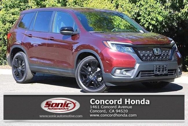 New 2019 Honda Passport Sport FWD SUV in Concord, CA