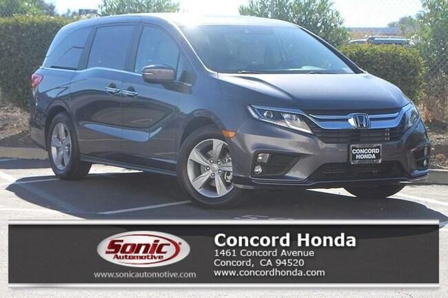 New 2019 Honda Odyssey EX-L w/Navigation & RES Van in Concord, CA