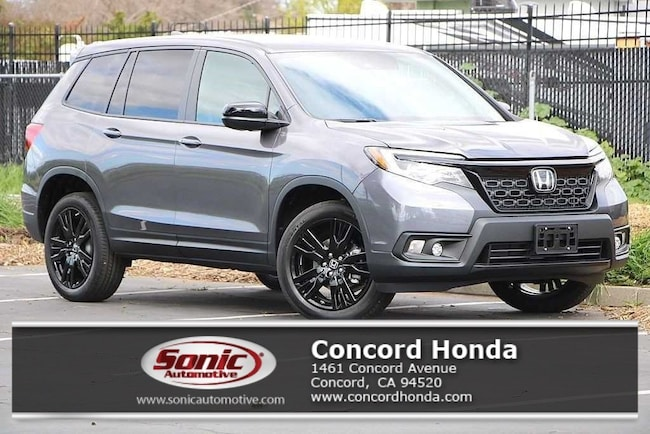 New 2019 Honda Passport Sport AWD SUV in Concord, CA