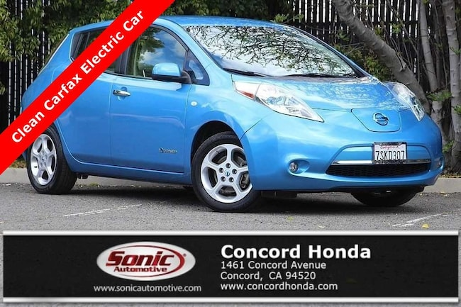 Used 2012 Nissan LEAF SL Hatchback in Concord, CA