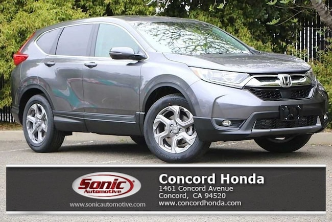 New 2019 Honda CR-V EX AWD SUV in Concord, CA