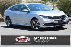 New 2019 Honda Civic LX Sedan in Concord, CA